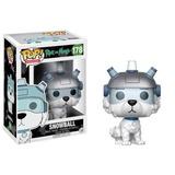 Funko Pop Rick And Morty Modelo Snowball Con Casco #178