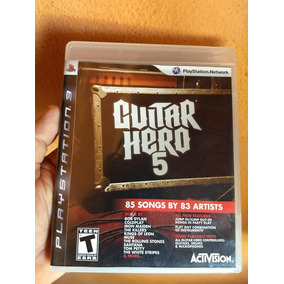 Guitar Hero 5 Ps3 Midia Fisica Semi Novo