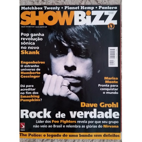 Revista Show Bizz Nº 180 Dave Grohl Foo Fighters