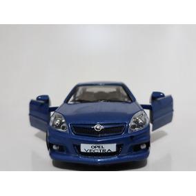 Miniatura Vectra Opel Opc Azul Rmz 1/32