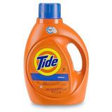 2 Botellas De Detergente Liquido Tide Original De 100 Oz