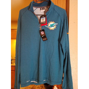 Nfl Nike Miami Dolphins Sudadera Ligera Nueva Delfines Mod43 86a1ebdd594