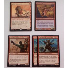 Deck Mono Red Goblins Magic Muito Forte Pronto Para Jogar
