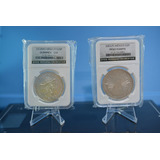 Capsula (losa) De Lujo Monedas De 38mm, 8 Reales, Olimpica