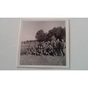 Foto Original Soldados 2ª Guerra Mundial Batalhão