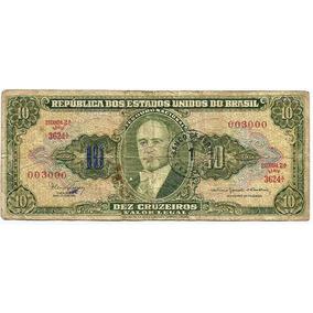 161 Cdl- Brasil 1 Cédula Ncr$.0,01 Cruzeiro Novo 1967- C 114
