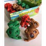Caja 12 Squishy Pelotitas Dinosaurio Envío Gratis