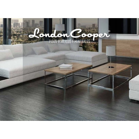 Piso Vinilico London Cooper Woodlane En Promocion