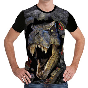 Camisa Dinossauro 3d - Camiseta Dinossauro