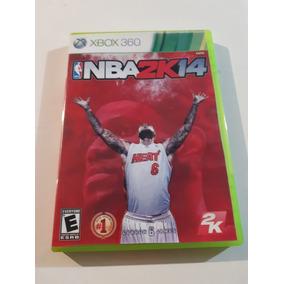 Nba 2k 14 Xbox 360 Original Midia Fisica