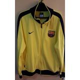 347651c9f5 Jaqueta Barcelona Nike N98 Amarela - Tamanho Gg
