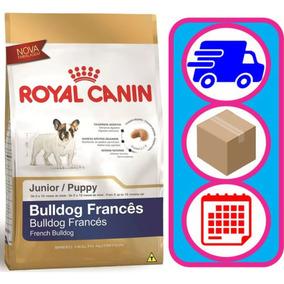 Ração Royal Canin Bulldog Francês Junior Cães Filhotes 2,5kg