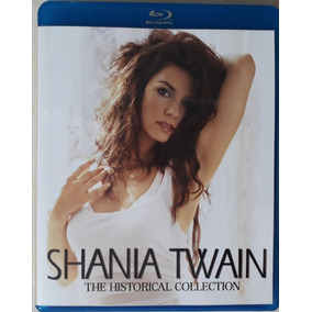 Bluray Duplo Shania Twain Historical Collection - Frete Grát