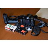 Camara Analoga Canon Eos 1 V Con Power Drive Booster
