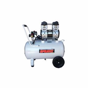 Compresor Dental Silencioso De 2hp-56 Litros Sprayit Sp5620c