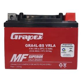 Bateria Moto Gel 4ah Ytx4 Cg Titan 125 Ks Biz 100 Fan Ks