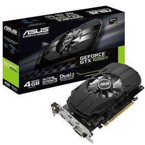 Placa De Vídeo Asus Gtx1050 Ti 4gb Geforce Ph-gtx1050ti-4g
