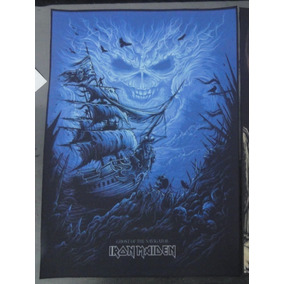 Backpatch Iron Maiden - Ghost Of The Navigator - 28x20