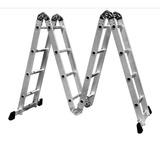 Escada Multifuncional 16 Degraus Aluminio Frete Grátis.
