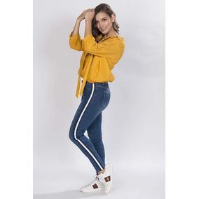 Blusa Bordado Colores Al Frente Amarillo-n81227-ama A1