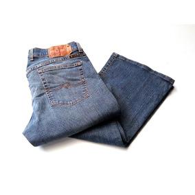 Jeans Lucky Brand Para Dama Corte Bota