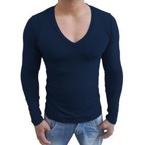 72b3af9fad Camisa Gola V Funda Hering - Camisa Casual no Mercado Livre Brasil