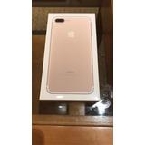 Iphone 7 Plus Gold 128gb Anatel Com Capa Bateria 2 Cargas