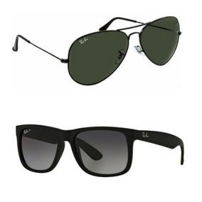 b254633722d24 Rayban Aviador - Óculos De Sol no Mercado Livre Brasil