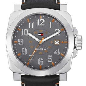 Relógio Masculino Tommy Hilfiger Original 1710161 Couro Sp
