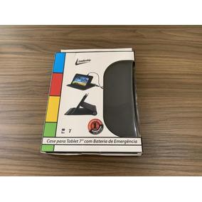 Capa Leadership 591 Para Tablet 7 Com Bateria De Emergência