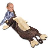 Saco De Dormir Slim Em Formato De Macaco Manta Cobertor