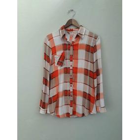 3b7925bab2 Camisas A Cuadros Amarillo Y Negro - Ropa y Accesorios Naranja ...