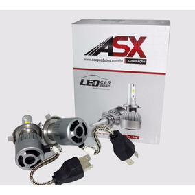 Kit 4 Unidades Led 60w 6500 Lumen Original Asx Branco Puro
