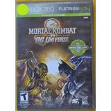 Mortal Kombat Vs Dc Universe Xbox 360 Play Magic