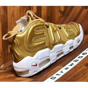 Nike Air More Uptempo Supreme Gold Pippen