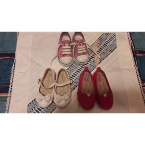 b4df2a5d1b2 Lote Sapato Menina Usado - Sapatos
