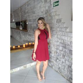 Vestido Vermelho De Helanca Light - Vestidos Femininas no Mercado ... 47fb58357d2