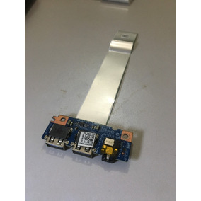 Placa Audio Usb Dell Inspiron 14 5000 + Cabo Flat Original