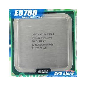 Procesador Intel Dual Core E5700