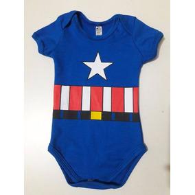 Body Capitão América Fantasia Infantil Personagem