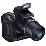 Samsung Wb2200f 16.3mp Cmos Smart Wifi & Nfc 60x Negra