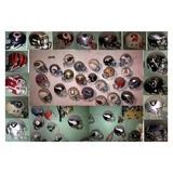50 Mini Helmets Nfl Y Tigres Uanl Y Borregos Del Tec Y Prepa