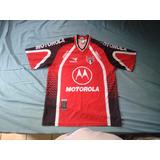 Camisa São Paulo Treino Penalty Motorola Vermelha G 2000