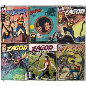 Lote 6 Gibis Do Zagor