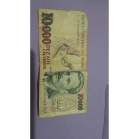 Cédulas 10.000 Cruzeiros Vital Brazil