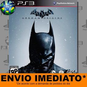 Batman Arkham Origins Ps3 Mídia Digital Psn Envio Imediato