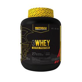 3 Whey Ultra Protein Pretorian Morango 1,8kg