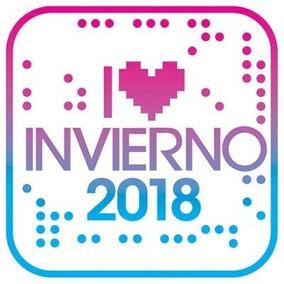 Cd Invierno 2018 I Love -int Varios -nuevo Sellado En Stock