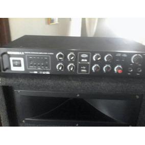 Planta De Sonido Con Dvd-cajón C/bajos 15 Casero