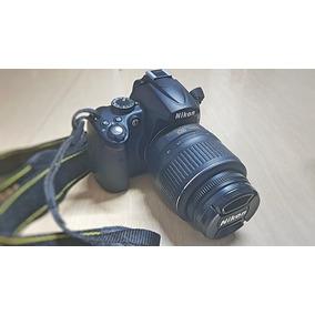 Câmera Nikon D5000 Dslr Com 2 Lentes E Bolsa Com Pouco Uso
